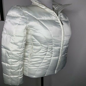 BIG CHILL PEARL WHITE COAT - Medium